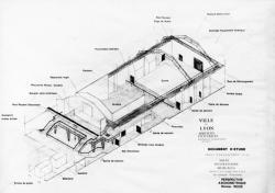 [Ville de Lyon (Services techniques). Projet d'aménagement d'une salle d'expressions musicales dans l'ex-usine des eaux]