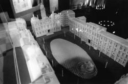 [Ville de Lyon. Exposition des projets pour l'aménagement de la place des Terreaux (projet de l'Atelier Roure-Bové)]