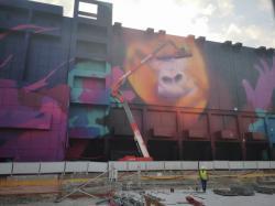 """""""Lyon : un gorille géant à la Part-Dieu en août """""""