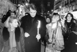 [Marche lyonnaise pour la Journée mondiale contre le Sida]