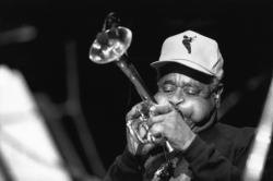 [Festival Jazz à Vienne (1990). Concert de Dizzy Gillespie]