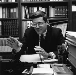 [Elections législatives partielles de 1991. Entretien avec Bruno Gollnisch (Front national)]