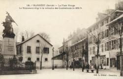 Chambéry (Savoie) - La Place Monge