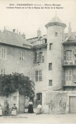 Chambéry (Savoie) - Place Monge