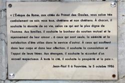 Parvis de Fourvière