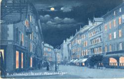 Chambéry la nuit