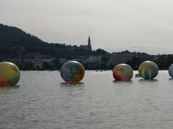 [Installations flottantes, Lac d'Annecy]
