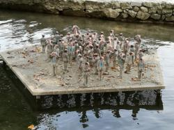 [Installation artistique, Lac d'Annecy]