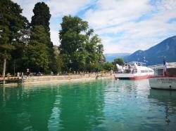[Bateaux sur le lac, Annecy]