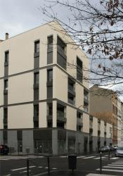 [Immeuble neuf, ancien emplacement de la Maison de l'avocat, 14 rue Dumont d'Urville]