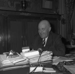 Louis Pradel, maire de Lyon