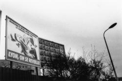 [Affiche du candidat Gérard Collomb pour les élections municipales de 1989]