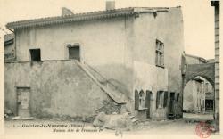 Grézieu-la-Varenne (Rhône). - Maison dite de François Ier