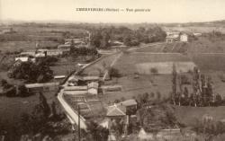 Chervinges (Rhône). - Vue générale