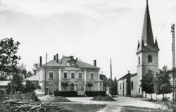 Gleizé (Rhône). - Place de la Mairie