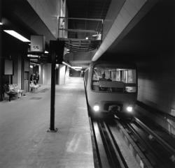 [Transports en commun de l'agglomération lyonnaise. Derniers tests sur la ligne D du métro avant inauguration]