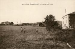 Les Haies (Rhône). - Quartier de la Croix