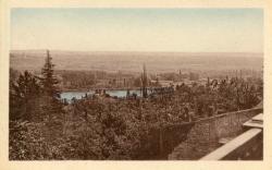 Irigny (Rhône). - Le Rhône vu de la Place