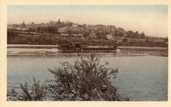 Irigny (Rhône). - Bords du Rhône. - La Damette