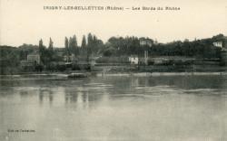 Irigny-les-Sellettes (Rhône). - Les bords du Rhône