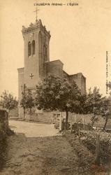 L'Aubépin (Rhône). - L'Eglise