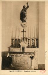 Eglise de L'Aubépin. - Chapelle St-Pierre