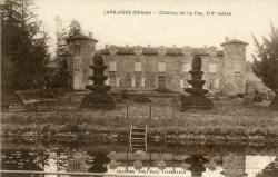 Larajasse (Rhône). - Château de La Fay, XIVe siècle