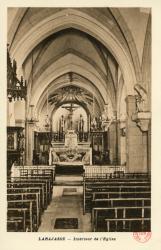 Larajasse. - Intérieur de l'Eglise