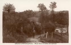 Grézieu-le-Marché (Rhône). - Moulin Berry et Vallée de la Gimond