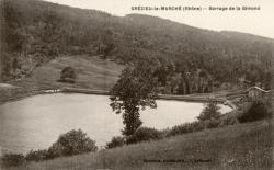 Grézieu-le-Marché (Rhône). - Barrage de la Gimond