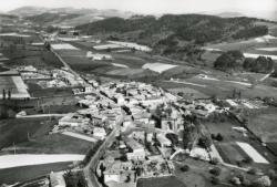 Grézieu-le-Marché (Rhône). - Vue générale aérienne