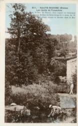 Haute-Rivoire (Rhône). - Les bords de Toranches