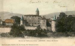 Environ de Villefranche-sur-Saône. - Jarnioux. - Château de Clavière