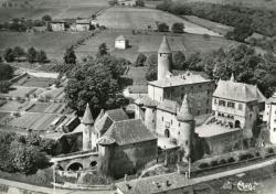 Jarnioux (Rhône). - Le Château de Clavière. - Vue aérienne