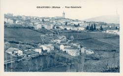 Grandris (Rhône). - Vue générale