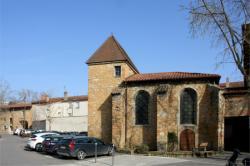 Château d'Ombreval, chapelle, Neuville-sur-Saône