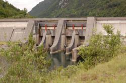 Barrage de Coiselet et sa retenue
