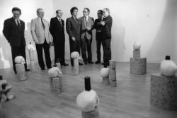 [Musée Saint-Pierre contemporain. Visite de Jack Lang, ministre de la Culture]