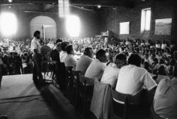 [Rassemblement annuel de pré-vendanges à Lacenas (Rhône)]