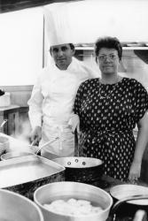 """[Jean-Paul Borgeot au restaurant """"La Tassée""""]"""