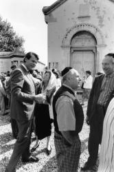 [Cérémonie au Cimetière juif de la Mouche à Gerland]