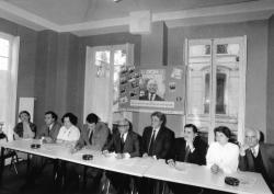 """[Elections municipales de 1983 : les têtes de liste de """"L'Union pour Lyon""""]"""
