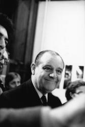 """[Fondation nationale de la Photographie. Vernissage de l'exposition """"La Mission photographique de la D.A.T.A.R.""""]"""