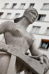 Monument aux morts de la Libération à Villeurbanne