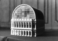 [Maquette de l'Opéra de Lyon, version Jean Nouvel (projet I)]