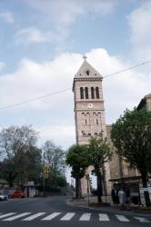 [Clocher de l'église de Sainte-Foy-lès-Lyon (Rhône)]