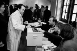 [Barreau de Lyon. Election du bâtonnier des avocats lyonnais (1989)]