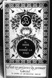 """[Préfecture du Rhône. Exposition """"Le Rhône, naissance d'un département""""]"""