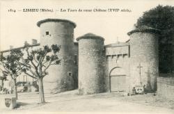 Lissieu (Rhône). - Les Tours du vieux château (XVIIe siècle)