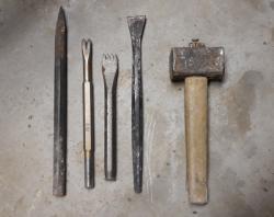 Les outils du sculpteur